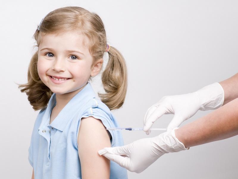 Бесплатное вакцинирование детей от гриппа