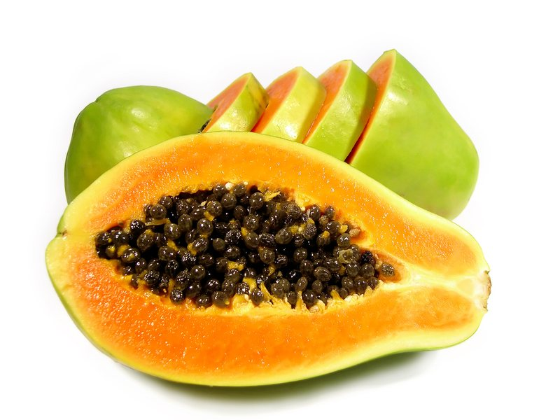 Основа препарата - экстракт сока папайи