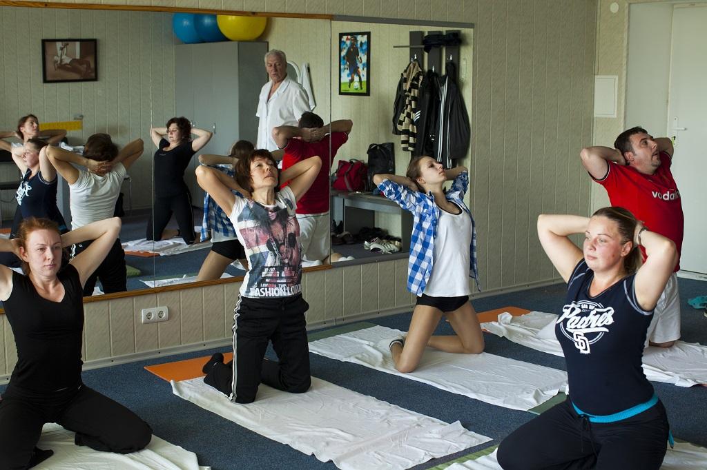 Лечебная физкултура при остеохондрозе
