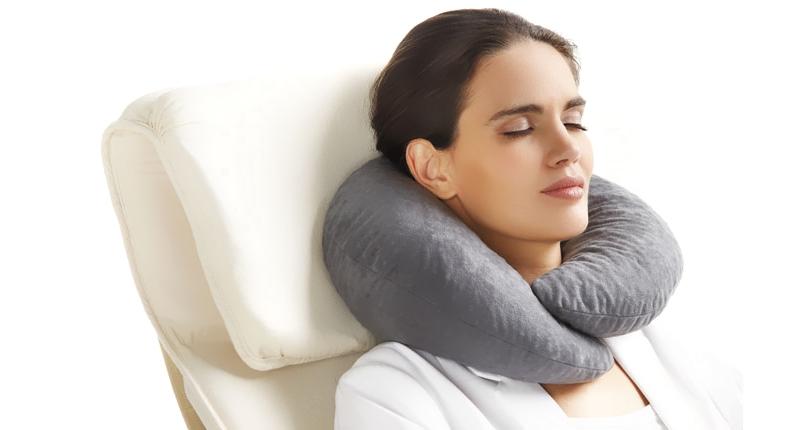 Шейная ортопедическая подушка для стула